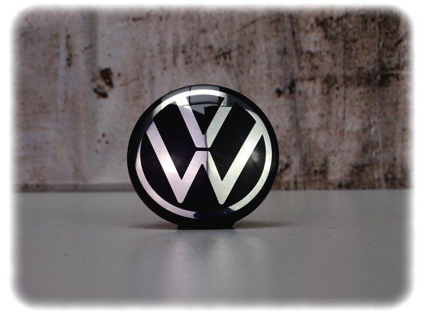 Original Volkswagen Nabenkappen-Satz mit Spinnerfunktion - Zubehör - 000071213D