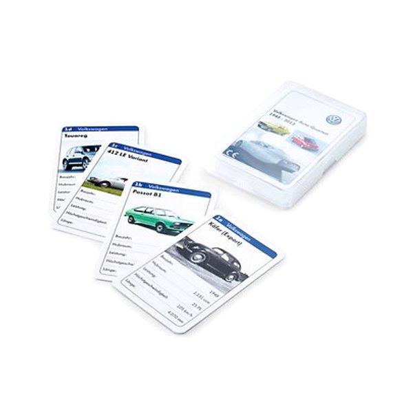 """Volkswagen Kartenspiel - """"Quartett"""", 32 Karten - 5C0087528 VCD"""