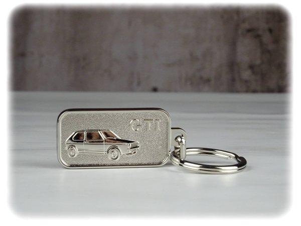 Original Volkswagen Zink-Spritzguss Schlüsselanhänger - GTI Kollektion - 5KA087010