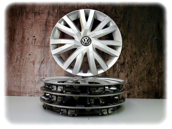 Original gebraucht VW Golf Radzierblende (4 Stk.) 16 Zoll - Räder Zubehör - 5G0601147B