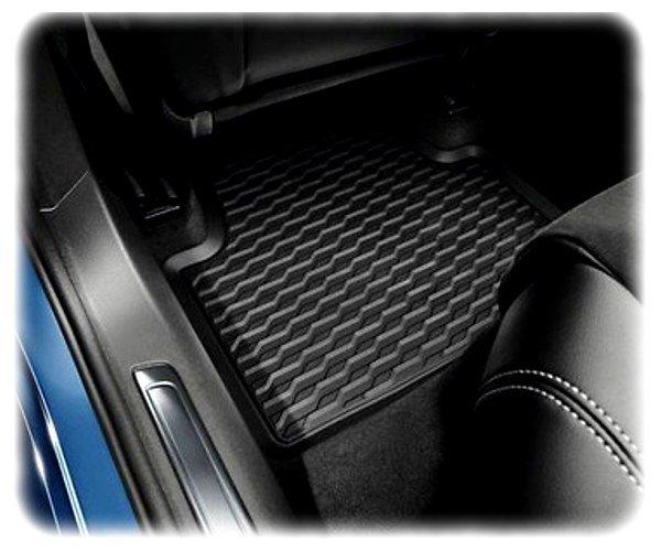 Original VW Passat 8 Fußmatten-Satz hinten - Allwetter-Fußmatten - 3G0061512A 82V
