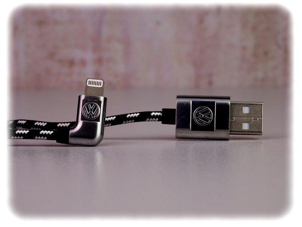 Volkswagen USB-A auf Apple Lightning Anschlusskabel - Zubehör - 000051446AR