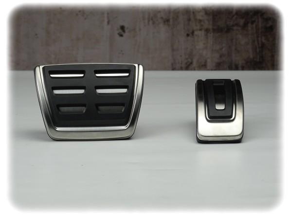 Original Volkswagen Pedalkappen-Satz | für DSG | Edelstahloptik - 5G1064205