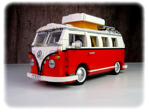 Original Volkswagen T1 Campingbus (1962) aus Lego - Spielzeug - 211099320 BL9