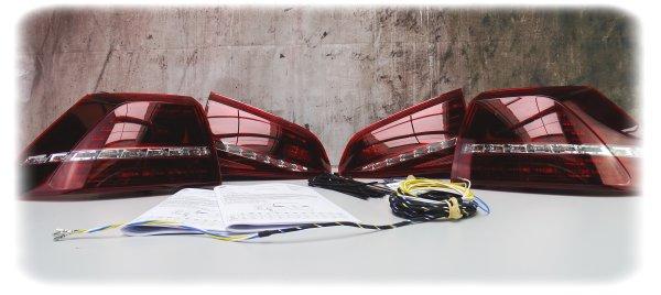 """Volkswagen Golf LED-Heckleuchten-Satz """"R-Design"""" - Scheinwerfer / Leuchten - 5G1052200D"""