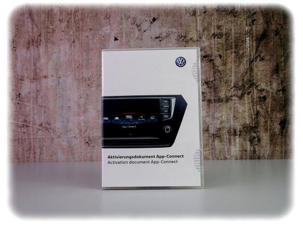 Original Volkswagen App-Connect Aktivierungsdokument - Software als Produkt - 5G0054830A