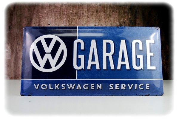 Original Volkswagen Retro Blechschild 25x50 cm - Zubehör - 231087002