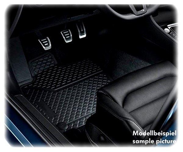 Original VW Passat Fußmatten-Satz hinten - Allwetter-Fußmatten - 3C0061512 82V